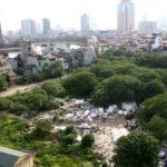 Garbage dump in Hoang Cau, Hanoi