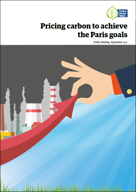 Pricing carbon to achieve the Paris goals - Carbon Market ...